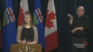 Hinshaw explains why Albertans need to take COVID-19 situation seriously