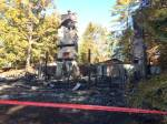 Fire destroys cottage on Stoney Lake in North Kawartha Township