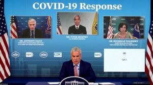 COVID-19: White House says more vaccine doses arriving in Canada on Thursday (01:04)