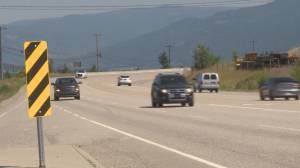 New medians on Okanagan highways aimed at reducing crashes