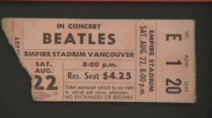 The biggest act in the world played Empire Stadium in 1964
