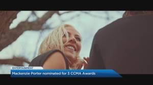 Mackenzie Porter nominated for 3 CCMA Awards