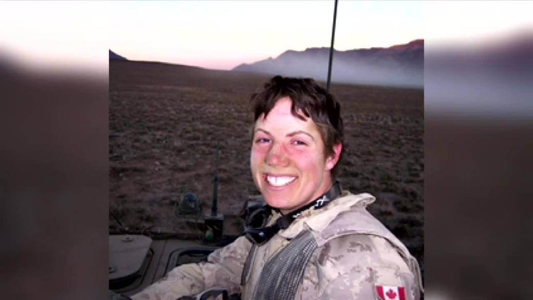 Click to play video: 'Sister of soldier killed in combat reflects on Afghanistan evacuations'