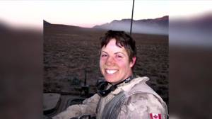 Sister of soldier killed in combat reflects on Afghanistan evacuations (03:25)