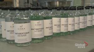 Coronavirus: Montreal-area distillers take a break from vodka to help fight COVID-19