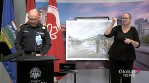 Calgary emergency chief details numbers around weekend storm