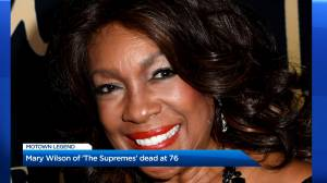 Mary Wilson, co-founder of The Supremes, dies at 76 (00:40)