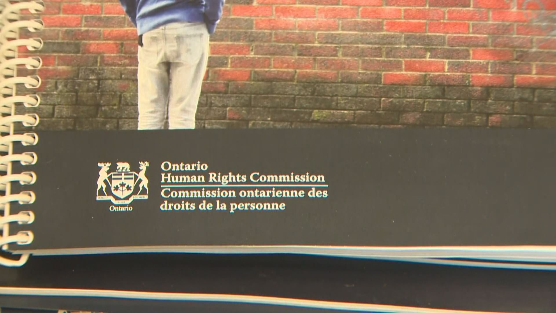 Ontario Human Rights Commission policy aimed at ending racial profiling in law