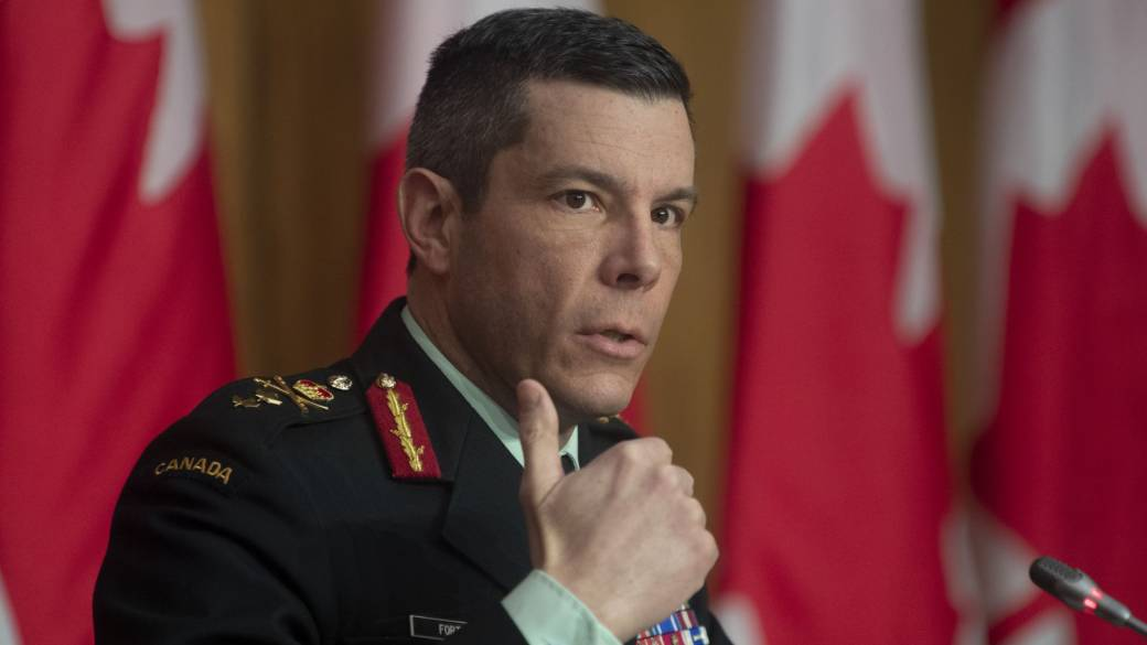 Click to play video: 'Maj.-Gen. Fortin steps aside pending military investigation'