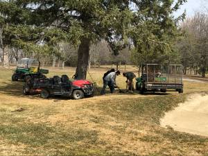 Golf courses preparing for another busy season (02:15)