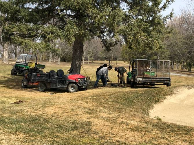 Click to play video: Golf courses preparing for another busy season