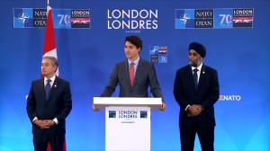 Trudeau speaks on Canada's defence spending following NATO summit