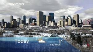 Edmonton early morning weather forecast: Tuesday, November 19, 2019