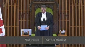 Bloc MP reminds House members of dress code after Liberal MP appeared naked in virtual conference (01:32)