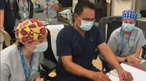 Saskatchewan could soon send COVID-19 patients to Ontario (02:00)