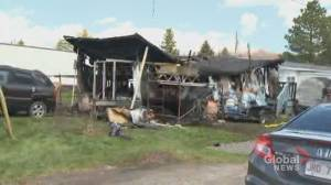 Woman dies in fire of mobile home park in Moncton