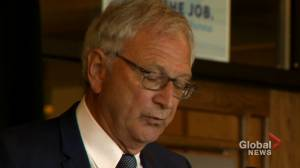 N.B. Tories in line with modern campaign strategy with late platform reveal (01:48)