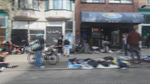 Coronavirus concerns on the Downtown Eastside | Watch News Videos Online