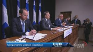 Quebec rolls out new measures to help businesses struggling amid coronavirus outbreak (02:31)