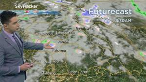 Kelowna Weather Forecast: May 3 (03:55)