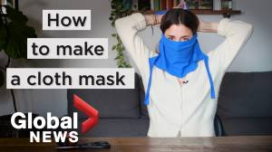 Coronavirus outbreak: How to make a cloth face mask based on CDC guidelines