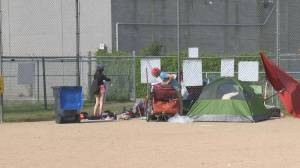 Coronavirus: Recreation Park homeless camp to stay