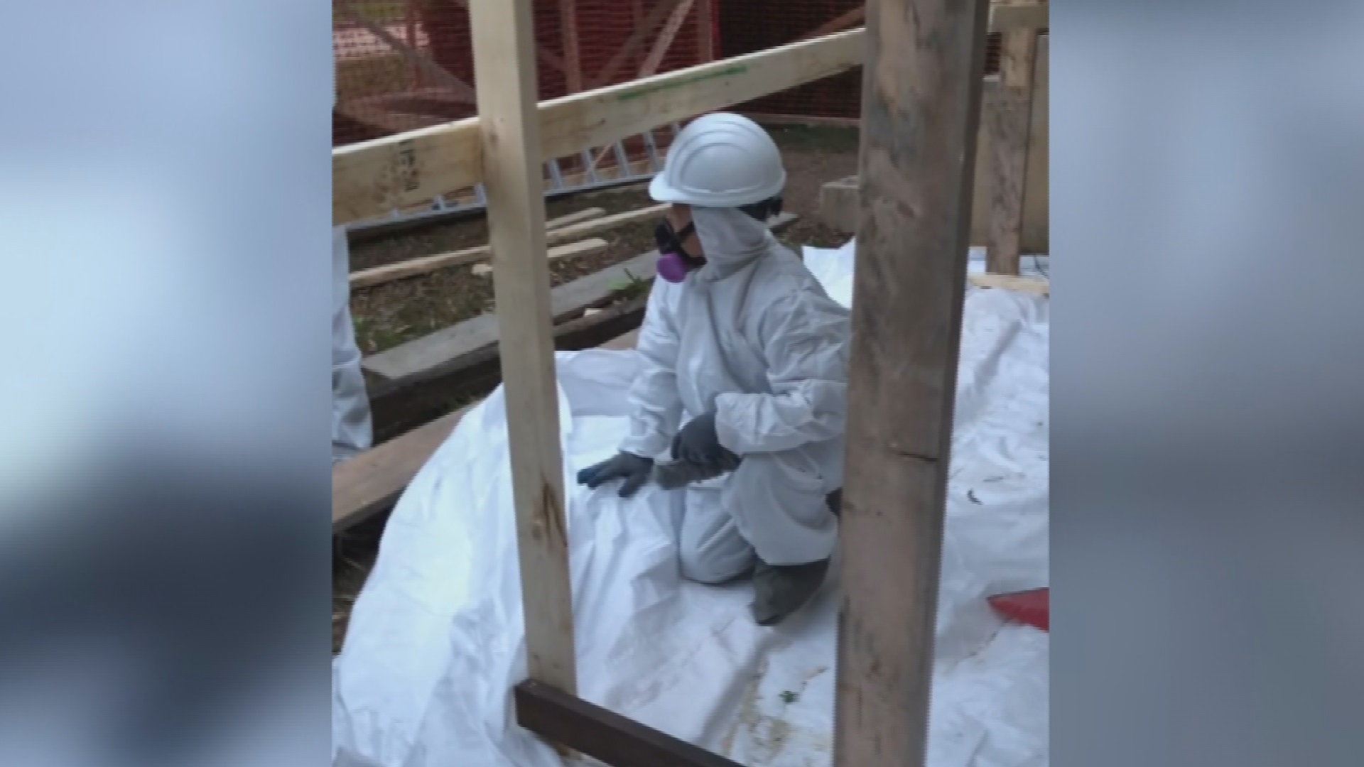 Concerns raised about asbestos abatement work at Vancouver renovation site