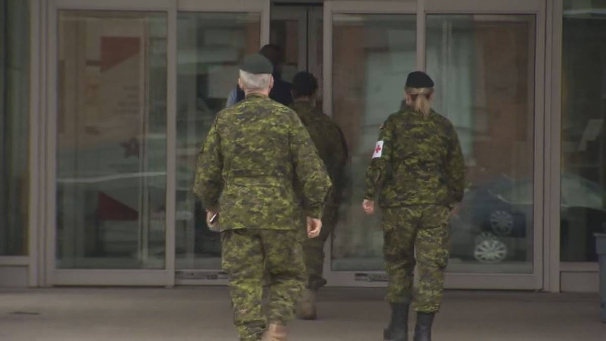 Click to play video: 'Canadian military prepares to deploy in Alberta amid dire COVID crisis'
