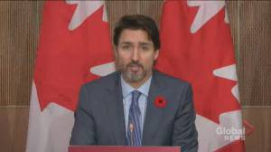 Ottawa suspends export permits to Turkey after reports Canadian airstrike targeting gear used by Azerbaijan: Trudeau (02:11)