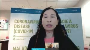 Canada's Dr. Tam says new coronavirus variants need rapid response (00:39)