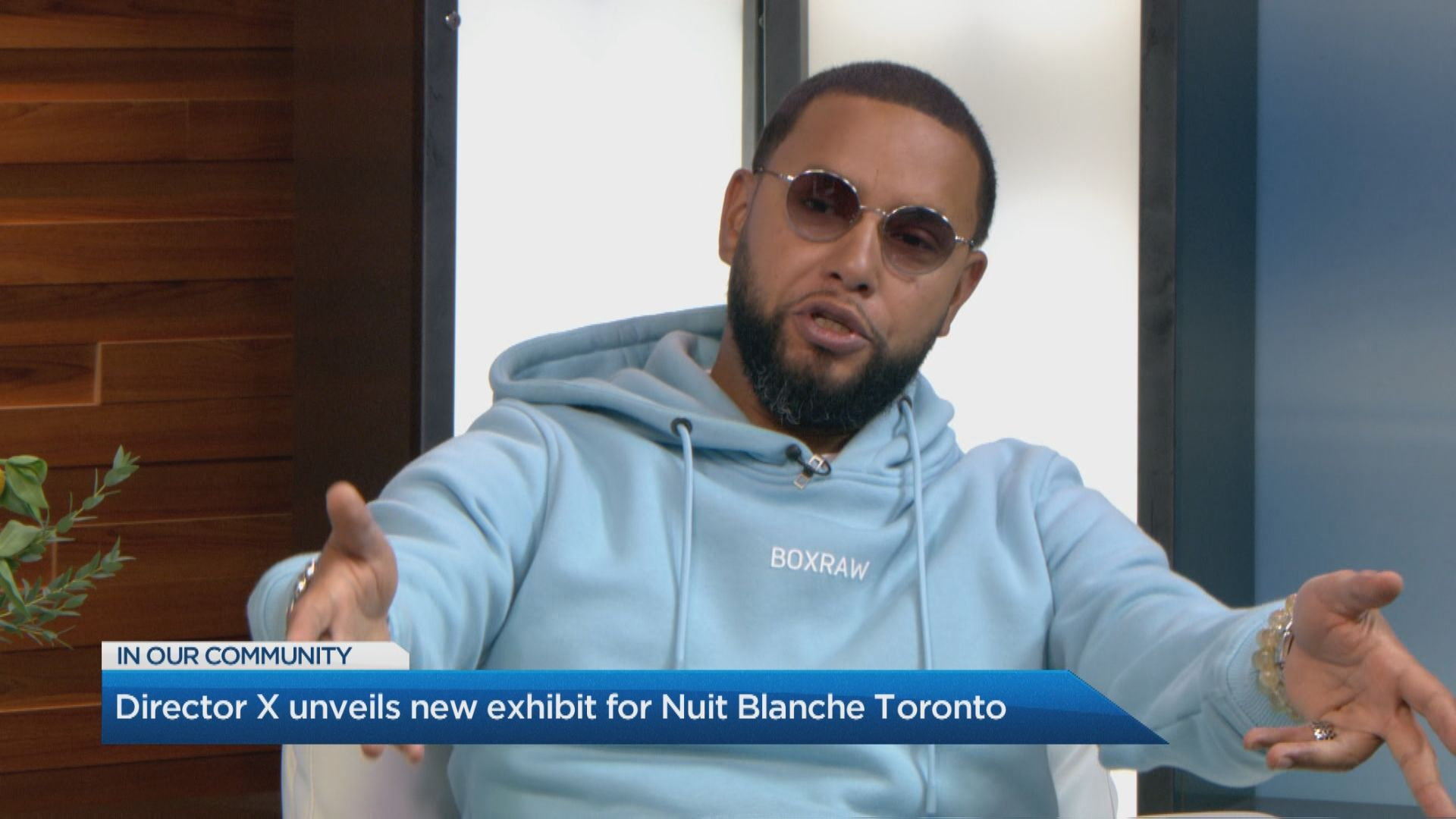 Director X unveils new exhibit for Nuit Blanche Toronto