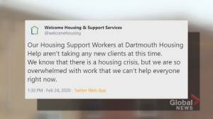 Halifax non-profit forced to turn away people in desperate need of housing