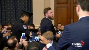 Pro-Trump protester disrupts Judiciary committee hearing on impeachment