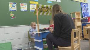 Penticton chosen for B.C.'s first publicly-funded pre-school program (02:09)