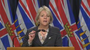 B.C. public health restrictions extended for another month as case curve trends upwards (02:00)
