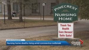 Community rallies behind Bobcaygeon nursing home after several seniors die from COVID-19 (02:41)
