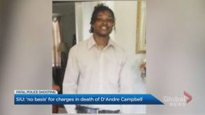 Peel Regional Police officer won't be charged in shooting death of 26-year-old man in crisis (02:32)