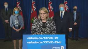 Coronavirus: Ontario solicitor general warns enhanced enforcement under new emergency order (02:18)