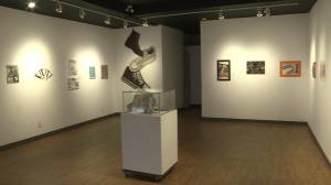 Vernon students art showcased at Vernon Public Art Gallery (01:50)