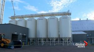 New state-of-the-art fertilizer facility unveiled near Taber, Alta. (01:49)