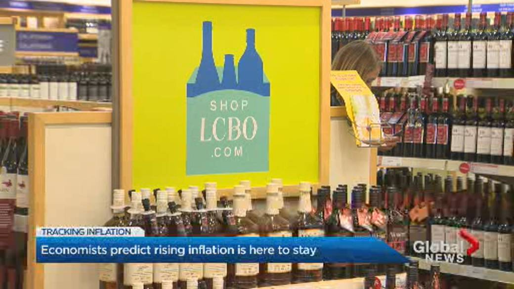 Click to play video: 'Economists predict rising inflation is here to stay'