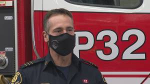 West Kelowna RCMP and fire department rescue man and two pets from poisoning (01:23)