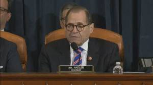 Trump impeachment hearings: Nadler says 'storm' of inquiry has been brought by president
