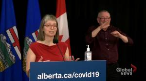 Hinshaw says it's 'very likely' COVID-19 vaccine intervals will be shorter than 4 months (01:41)
