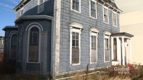 Saint John attempts to balance heritage and development as destruction of Anglin House looms | Watch News Videos Online - Globalnews.ca