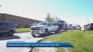 Charges laid in deadly Toronto-area tow truck war (01:40)