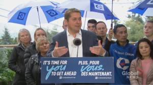 Federal Election 2019: Scheer says Conservatives raised alarm about election meddling from 'advocacy groups'