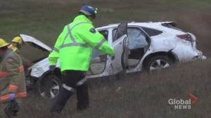 Rollover on Hwy. 115 south of Peterborough sends 1 to hospital
