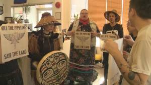 Indigenous youth occupy MLA Melanie Mark's office in support of Wet'suwet'en hereditary chiefs