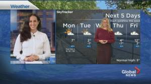 Global News Morning weather forecast: MONDAY, November 16, 2020 (02:15)